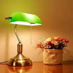 Eeayyygch Lampe de Table Couverture Verte Lampe de Table bancaire Lampe de Table rétro Dormitory Reading Study Lamp (coloré : -, Taille : -) de la marque Eeayyygch image 2 produit