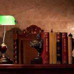 Eeayyygch Lampe de Table Couverture Verte Lampe de Table bancaire Lampe de Table rétro Dormitory Reading Study Lamp (coloré : -, Taille : -) de la marque Eeayyygch image 3 produit