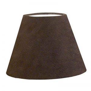 Eglo 4941711Abat-jour vintage Texture Diamètre 20,5cm, marron foncé de la marque EGLO; my light; my style image 0 produit