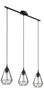 Eglo Lampe Suspension E27 L-790 'Tarbes'(Noir Mat) de la marque EGLO; my light; my style image 0 produit