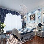 Egomall Lampe en aluminium Suspension de lune et étoiles Lustre moderne pour chambre d'enfant de la marque egomall image 2 produit