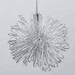 Egomall Lampe en aluminium Suspension de lune et étoiles Lustre moderne pour chambre d'enfant de la marque egomall image 4 produit