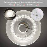 EISFEU 24W Plafonnier LED Lampe de plafond 12-Inch 2050 Lumens 4000K Warm White la lampe de bâti affleurante pour la salle de bains, cuisine, salon de la marque EISFEU image 2 produit