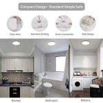 EISFEU 24W Plafonnier LED Lampe de plafond 12-Inch 2050 Lumens 4000K Warm White la lampe de bâti affleurante pour la salle de bains, cuisine, salon de la marque EISFEU image 3 produit