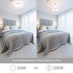 EISFEU 24W Plafonnier LED Lampe de plafond 12-Inch 2050 Lumens 4000K Warm White la lampe de bâti affleurante pour la salle de bains, cuisine, salon de la marque EISFEU image 4 produit