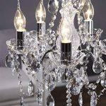 ELILNKUME 1X E14 Bougie LED 4W Forme Bougie COB Ampoule Lampe Blanc Chaud 450LM Super Lumineux Flame Tip LED 220~240V (Lustre) de la marque DESIGN DELIGHTS image 1 produit