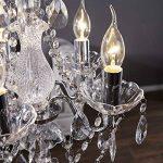 ELILNKUME 1X E14 Bougie LED 4W Forme Bougie COB Ampoule Lampe Blanc Chaud 450LM Super Lumineux Flame Tip LED 220~240V (Lustre) de la marque DESIGN DELIGHTS image 2 produit