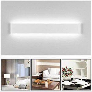 ELINKUME 14W Lampe Applique Murale LED LED Mural 70 SMD 2835 LED Super Lumineux 1540LM Lampe Lumière Blanc 6000k Pour Salle de Bain Miroir de la marque ELINKUME image 0 produit
