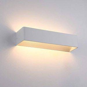 ELINKUME 8W LED Applique Murale Aluminium Lampe Murale IP25 3200K Blanc Chaud 650LM pour Maison Couloir Salon Chambre de la marque ELINKUME image 0 produit