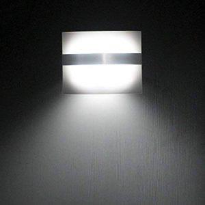 ELINKUME Applique Murale LED Lampe de Mur Détecteur de Mouvement (Cool White) de la marque ELINKUME image 0 produit