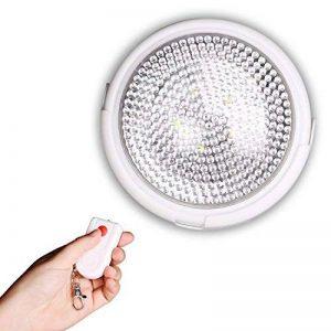 EM Home Plafonnier LED avec télécommande 12x 5cm Lumière blanche de la marque EM HOME image 0 produit