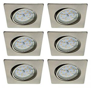ensemble 6 spots led encastrables blanc TOP 1 image 0 produit