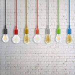 ENUOTEK Lampe Suspension Silicone Noire Luminaire Suspendu Plafonnier Couleur Moderne avec Douille Ampoule E27 pour Cuisine Salle a Manger Chambre Enfant de la marque ENUOTEK image 4 produit