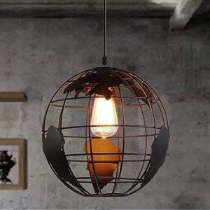 Esoes Lampe de sphérique moderne - Lustre créatif avec pendentif lampe de plafond en Métal Style terrestre pour Salon Chambre Café Bar Restaurant Salle à Manger (Ampoule Non-incluse) (A) de la marque Esoes image 0 produit