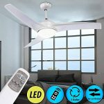 etc-shop Ventilateur de Plafond Á LED 9W lumière luminaire éclairage Interrupteur télécommande de la marque etc-shop image 1 produit