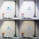 Etekcity LED Lampe de Bureau - 5 Niveaux d'Intensité Réglable - Chargeur USB - Minuterie de 60 Minutes Noir de la marque Etekcity image 3 produit