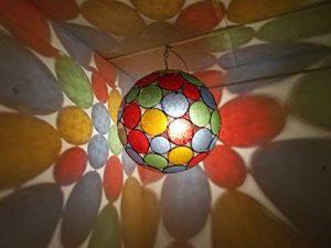Etnico Arredo Ethnique ameublement Lustre Ethnique marocain Lampe Lanterne Arabe Oriental 237181003S2 de la marque Etnico Arredo image 0 produit