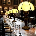 EuSolis 8 Pouces en Verre ambré Tiffany Vintage Gold Lampe de Table Classic Designer Abat-Jour Lampe de Chevet E27 Home Deco pour Salon de la marque EuSolis image 4 produit