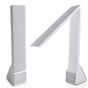 Facetoworld Lampe de Bureau Pliable, Lumière de Table LED 4W avec USB,Contrôle Tactile, 3 Modes Lecture/Etude/Relax/, bras pliable 180 °, Confortable pour vos yeux de la marque Facetoworld image 0 produit