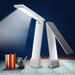 Facetoworld Lampe de Bureau Pliable, Lumière de Table LED 4W avec USB,Contrôle Tactile, 3 Modes Lecture/Etude/Relax/, bras pliable 180 °, Confortable pour vos yeux de la marque Facetoworld image 3 produit