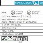 Faro 33701 ICARIA Ventilateur de plafond aluminium de la marque FARO image 4 produit