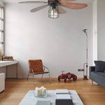 Faro 33703 - CHICAGO Ventilateur de plafond noir de la marque FARO image 1 produit