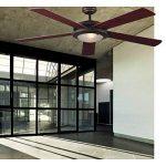 Faro Ventilateur De Plafond Avec Lumière 33192 Lorefar Manila Marron 5 Pales Réversibles Diamètre 132 Cm de la marque FARO image 3 produit
