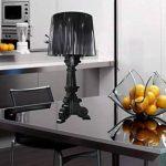 FGHOME personnalité Créativité Baroque Ghost lampe de table moderne Lampe d'étude salon Simple lampe de chevet pour chambre Cafe lampe de table Bar lampe de table (Noir) ... de la marque FGHOME image 1 produit