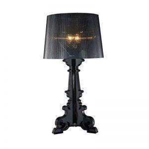 FGHOME personnalité Créativité Baroque Ghost lampe de table moderne Lampe d'étude salon Simple lampe de chevet pour chambre Cafe lampe de table Bar lampe de table (Noir) ... de la marque FGHOME image 0 produit