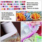Fipart DIY Peinture Diamant Point de Croix kit d'artisanat ,Salon Stickers muraux Décor à la Maison, Cheval(12X18inch/30X45CM) de la marque Fipart image 3 produit