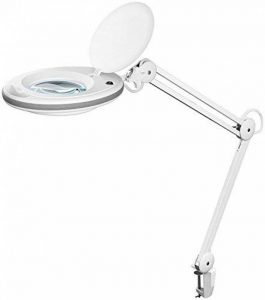 Fixpoint 45271LED Lampe loupe de serrage, 7,5W Noir de la marque Fixpoint image 0 produit