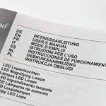 Fixpoint 45271LED Lampe loupe de serrage, 7,5W Noir de la marque Fixpoint image 2 produit