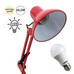 Flexible Série antigona articulable Rouge avec ampoule LED de la marque FABRILAMP image 1 produit