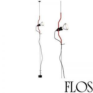 Flos - Parentesi - F5400035 - Suspension - Design Achille Castiglioni & Pio Manzù Italy 1971 - Rouge de la marque Flos image 0 produit