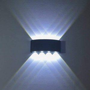 FLYDEER Lampe Murale LED 8W Appliques Murales Éclairage Interieur Imperméable Moderne Aluminium Applique Murale de la marque FLYDEER image 0 produit