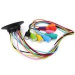 Fuloon Créatif Multi-Branche Coloré Plafonnier Suspension Lustre de Plusieurs Douilles E27 (10 Douilles) de la marque Fuloon image 1 produit