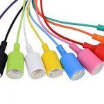 Fuloon Créatif Multi-Branche Coloré Plafonnier Suspension Lustre de Plusieurs Douilles E27 (10 Douilles) de la marque Fuloon image 2 produit