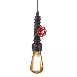 Fuloon Loft Retro Industriel Fer Vintage Pipe Tube Bricolage Lampe de Plafond Suspension Lustre de la marque Fuloon image 0 produit