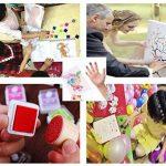 Funxim Coussins Encreurs, 24 Couleurs Encreurs Tampon , Facile à laver Tampon Encreur pour Enfants, Non-toxique Tampons D'encre à Doigts Créatifs Enfants Artisanat pour Peinture au doigt Scrapbooking de la marque Funxim image 1 produit