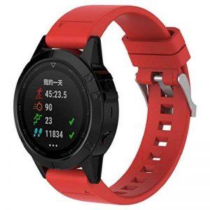 Garmin Fenix 5GPS accessoire Band, Wawer 22mm de largeur rapide installer Sport Bracelet de montre en silicone pour Garmin Fenix 5GPS Smart Watch de la marque image 0 produit