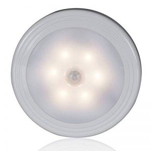 GCBTECH LED Lamp Détecteur de Mouvement avec Base Magnétique, Lampes de Nuit, sur Placard, Clôture, Escaliers, Salle de bain, Chambre à coucher, Cuisine, Garderie, et Lampe Murale Partout, Warm Yellowish - 1 PCS de la marque GCBTECH image 0 produit