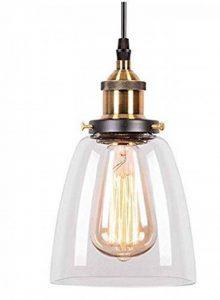 glighone Lampe de plafond transparent de la marque Lightess image 0 produit