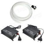 Global 2m diy 16w rgb LED fibre optique étoiles plafonniers kit 150pcs 0.75mm + 24 IR éloigné de la marque Global image 2 produit