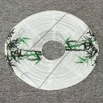 Global 35 CM chinois bambou rond papier lanterne abat-jour Oriental décoration de la maison de la marque Global image 1 produit