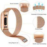 Gogoings Bracelet pour Fitbit Charge 3 - Bracelet Fitbit Band Sport Réglable en Acier Inoxydable Compatible avec Fitbit Charge3 pour Femme & Homme (sans Montre) de la marque image 1 produit
