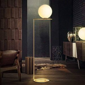 Good thing Lampadaire Moderne minimaliste verre boule lampe lampadaire nordique personnalité chambre chevet salon canapé boule lampe de la marque Good thing éclairage image 0 produit
