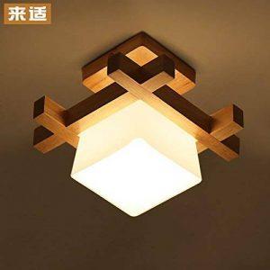 GQLB Lampe de plafond en bois LED light (230*230mm),3W le japonais de la marque GQLB image 0 produit