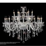 Grand lustre en cristal de luxe salon lustre sala de cristal moderne 18 bras lustres luminaire décoration de mariage de la marque GrowtherHOME image 4 produit