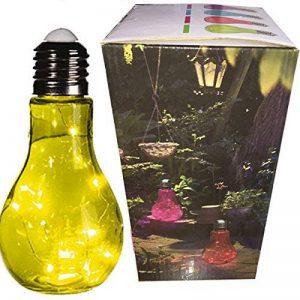 Grande Lampe Ampoule LED design à Poser - 23 cm - Vert - En Verre de la marque Générique image 0 produit