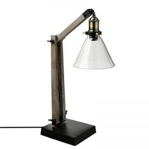 Grande lampe à poser avec abat jour en verre - Originale, Ajustable et Rétractable de la marque ATMOSPHERA image 0 produit